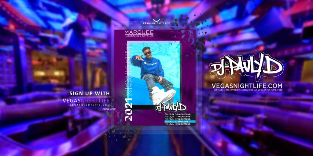 Marquee Nightclub Friday | DJ Pauly D