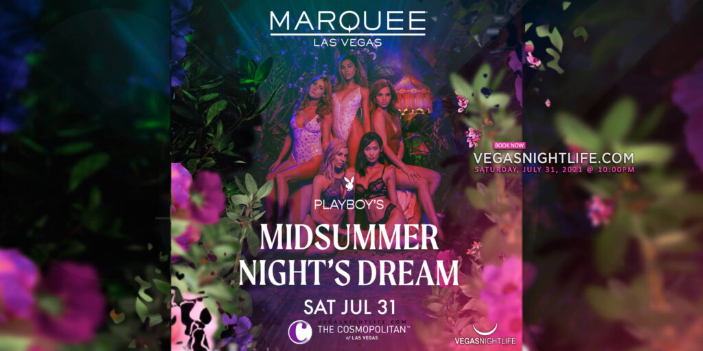 Playboy Midsummer Night's Dream Party at Marquee Nightclub Las Vegas