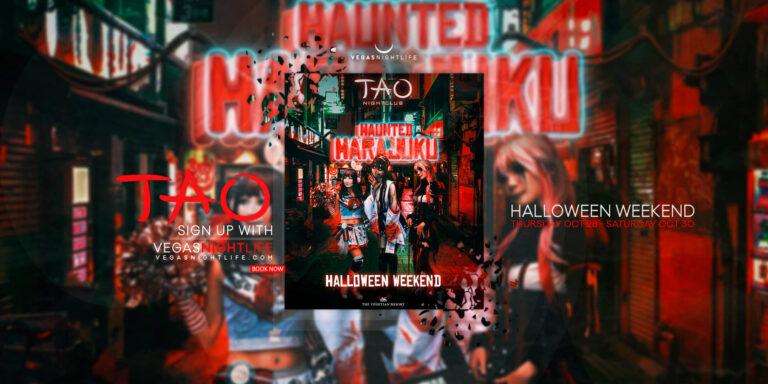 TAO Las Vegas Halloween Party Weekend 2021