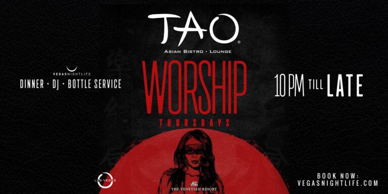 TAO Worship Thursdays Lounge