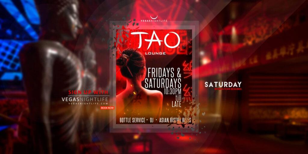 Tao Saturdays Las Vegas